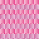 Elegant pattern with pink and violet geometric shapes silk effect Royalty Free Stock Photography