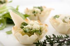 Elegant pear appetizer Stock Images