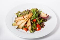 Elegant pear salad Royalty Free Stock Images