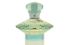 Elegant perfume bottle Stock Photography