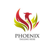 Elegant Phoenix logo concept. Suitable for all kind business accounting legal management sport security etc Royalty Free Stock Images