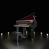 Elegant piano Royalty Free Stock Images