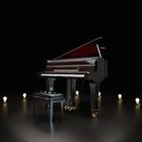 Elegant piano stock illustration