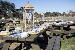 Elegant picnic Stock Photo