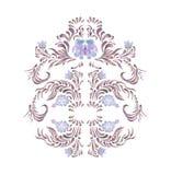 Elegant pink frame Stock Image