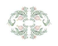 Elegant pink frame Royalty Free Stock Photography
