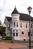Elegant Pink Lady in Eureka, California Royalty Free Stock Images