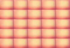Elegant Pink and Peach Colored Abstract Rectangular Pattern Background, Illustration. Can be used for Decoration stock illustration