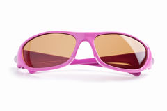 Elegant pink-rimmed glasses Royalty Free Stock Photography