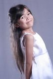 Elegant and poised child Royalty Free Stock Photo