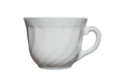 Elegant porcelain cup isolated Royalty Free Stock Photos