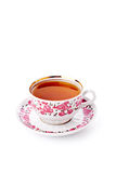 Elegant porcelain cup of tea Royalty Free Stock Images
