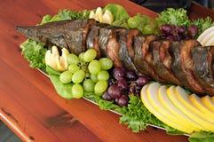 Elegant prepared sturgeon. Photo of elegant prepared sturgeon Royalty Free Stock Image