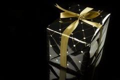 Elegant present box Royalty Free Stock Photography