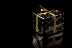 Elegant present box Royalty Free Stock Photos