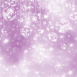 Elegant purple christmas background. EPS 8. Vector file included vector illustration