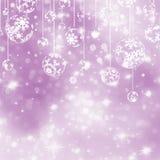 Elegant purple christmas background. EPS 8 Royalty Free Stock Images