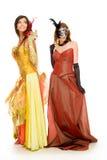 Elegant queens Stock Photos