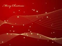 Elegant red background. Christmas background. Vector illustration Stock Image