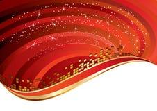 Elegant red background Stock Images