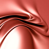 Elegant red silk satin Stock Photos