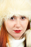 Elegant redhead portrait Royalty Free Stock Image