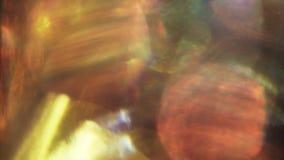 Elegant regnbågsskimrande bakgrund för abstrakt tappningscience fiction arkivfilmer