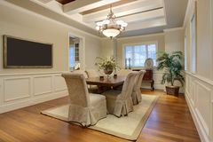 Elegant Residential Dining Room Royalty Free Stock Photos