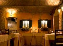 elegant restaurang Fotografering för Bildbyråer