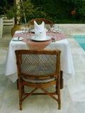 Elegant restaurant. Romantic Elegant restaurant Stock Photo