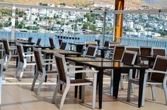 Elegant restaurant interior detail Royalty Free Stock Photo