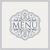 Elegant Restaurant Menu design. Vector Royalty Free Stock Photos