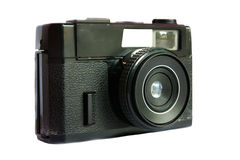 An elegant retro range finder camera Royalty Free Stock Photos