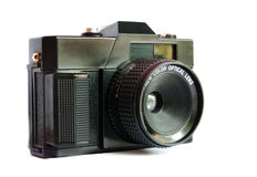 An elegant retro range finder camera Stock Image