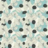 Elegant retro seamless pattern background Royalty Free Stock Images