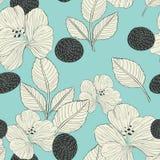 Elegant retro seamless pattern background Stock Photography
