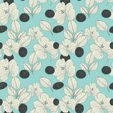 Elegant retro seamless pattern background Stock Photos