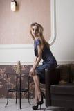 Elegant rich woman Royalty Free Stock Photo