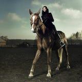 Elegant rider Royalty Free Stock Images
