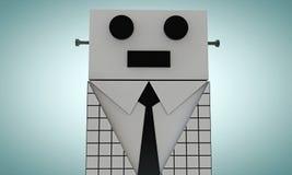 Elegant robot Stock Photos