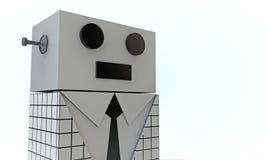 Elegant robot Royalty Free Stock Image