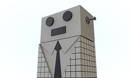 Elegant robot Royalty Free Stock Photos