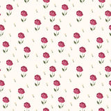 Elegant rose seamless pattern background Stock Photo