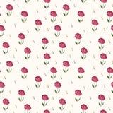 Elegant rose seamless pattern background Stock Photo
