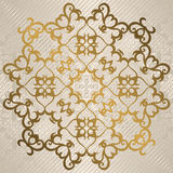 Elegant round vintage pattern Royalty Free Stock Photography