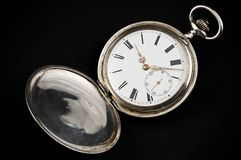 Elegant rusty pocket watch Royalty Free Stock Image