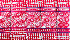 Elegant sarong pattern in Thailand Stock Images