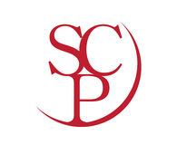 Elegant SCP Logo Design. Elegant,SCP Logo Design, Aı 10 Supported Royalty Free Stock Images