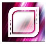 Elegant scrapbooking design page Royalty Free Stock Image