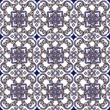 Elegant seamless Indian, oriental ornament. Decorative ornament backdrop for fabric, textile, wrapping paper royalty free stock photos